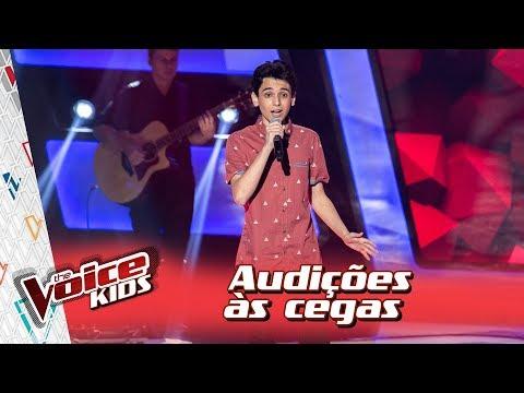 Guilherme Porto canta &39;Romântico Anônimo&39; na Audição – 'The Voice Kids Brasil'  3ª Temporada