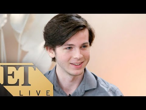 ET Live: Chandler Riggs of 'The Walking Dead'