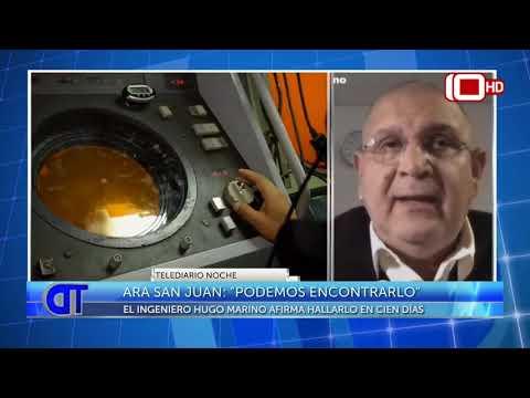 ARA San Juan: E ingeniero Hugo Marino afirma que puede hallarlo en 100 días