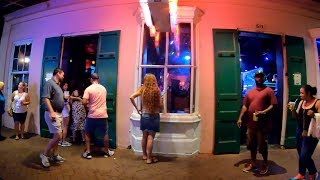 ⁴ᴷ⁶⁰ Walking New Orleans (Narrated) : Bourbon Street, French Quarter