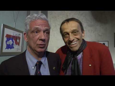 Toni Bertorelli allo Studio Rosai