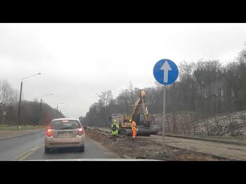 Trasa Kaszubska - Chwaszczyńska 12 grudnia