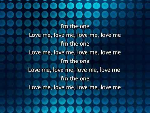 Kylie Minogue - The One, Lyrics In Video