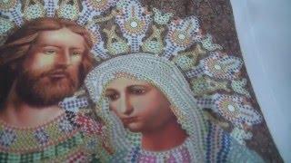 """Святые Петр и Февронья от """"Вышиваем бисером"""". Обзор набора."""