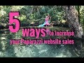 5 ways to increase your Paparazzi Accessories website sales!