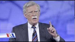 Tổng thống Trump sa thải cố vấn an ninh quốc gia John Bolton (VOA)