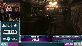 Resident Evil Zero HD Remaster by pessimism in 1:16:17 - Awesome Games Done Quick 2017 - Part 11