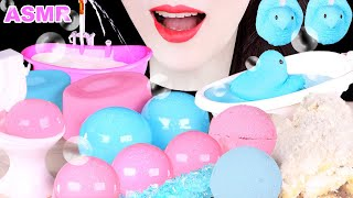 ASMR BATHTUB,MILK SHOWER,우유 샤워…