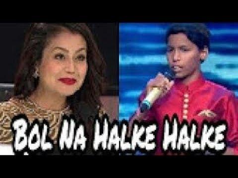 Bol na halke halke cover |jhoom barabar jhoom| hasrat ali and senjuti |Bollywood|sa re ga ma pa|