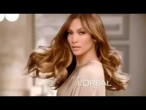 Super Jennifer Lopez for L'Oréal Paris Superior Preference - YouTube @DL_35