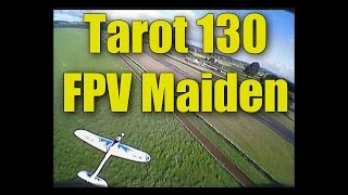 Tarot TL130 mini racing quadcopter from Foxtech FPV (flight video)