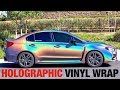 HOLOGRAPHIC Car Wrap Ft. Chasubi! (3M PSYCHEDELIC) mp3 indir
