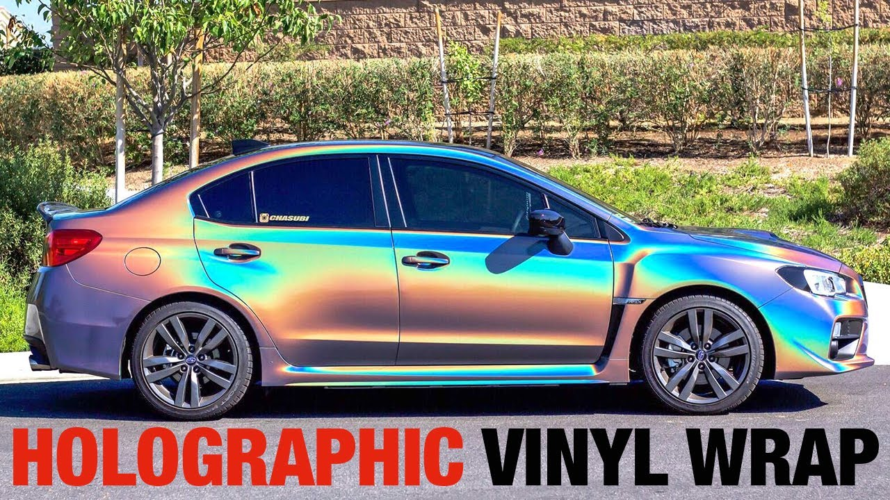 Chrome Car Wrap >> HOLOGRAPHIC Car Wrap Ft. Chasubi! (3M PSYCHEDELIC) - YouTube