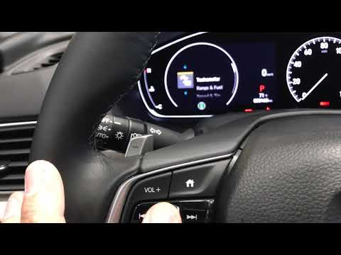 How To Change Your KM to Miles on your 2018 Honda Accord!