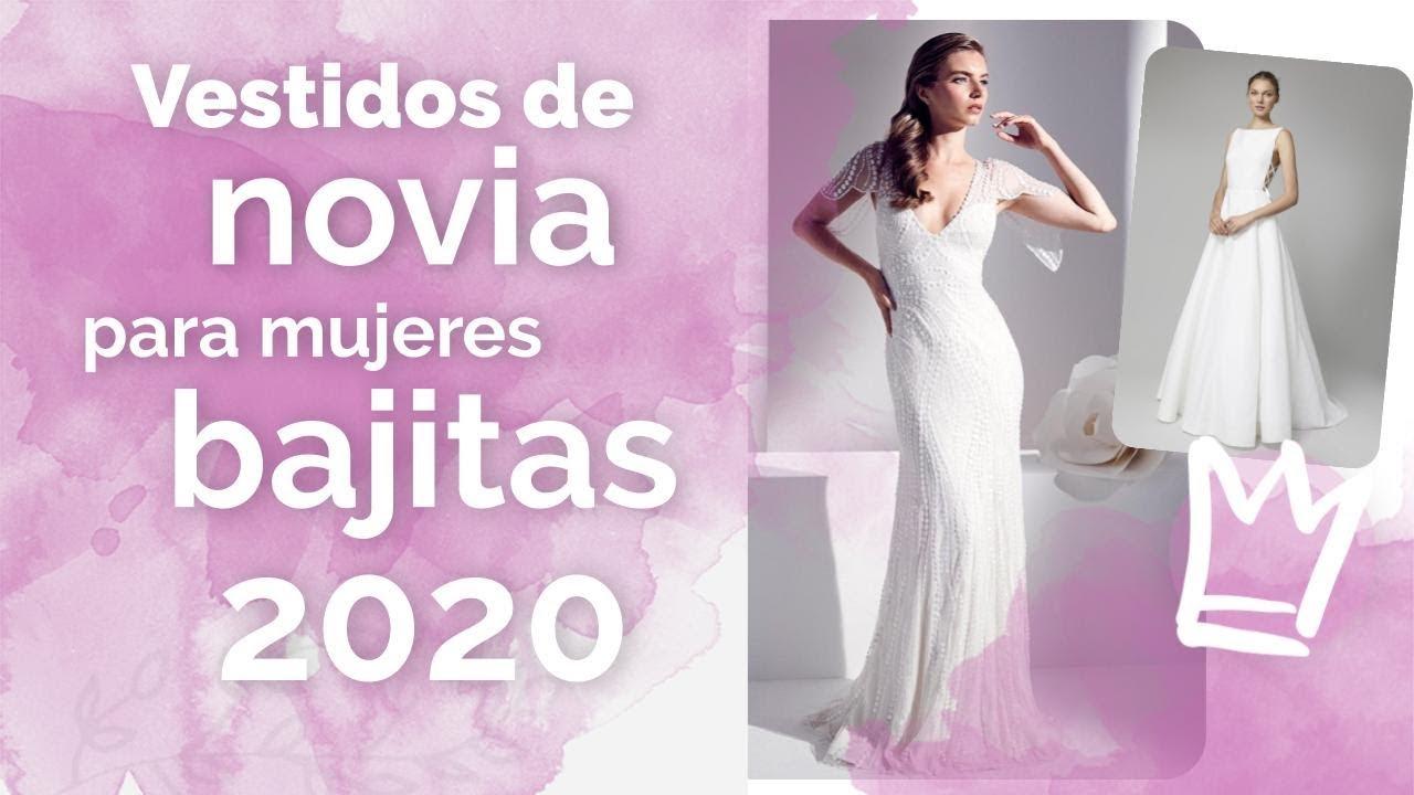 Vestidos De Novia 2020 Para Mujeres Bajitas