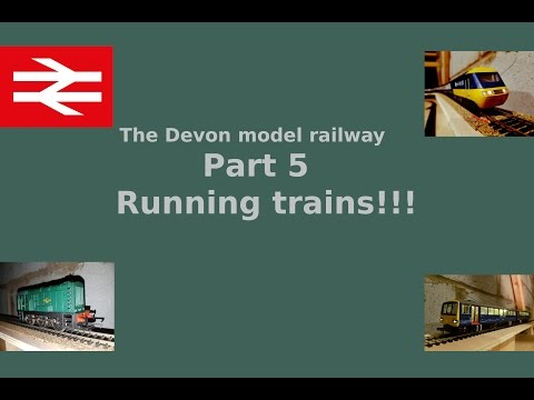 Part 5 Running trains!!! – Building a model railway