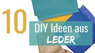10 coole DIY Ideen aus Lederresten, die jeder braucht
