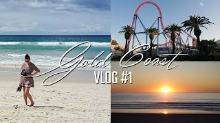 Theme Parks & Epic Apartment | Gold Coast Vlog #1