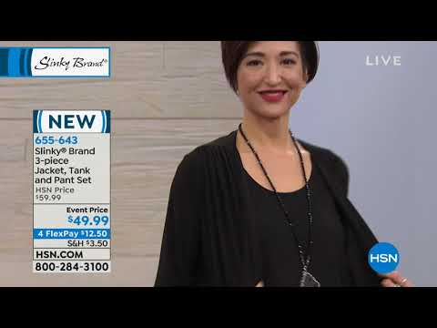 HSN | Slinky Brand Fashions . http://bit.ly/2NDDe2S