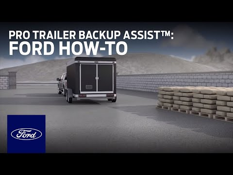 How to Use Pro Trailer Backup Assist™   Ford How-To   Ford