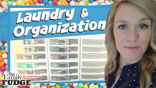 Laundry & Organization || SIMPLE & EASY || Kid Clothes