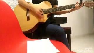 Cứ yêu đi Ngô Kiến Huy - Sĩ Thanh guitar cover Trần Diệu Trang