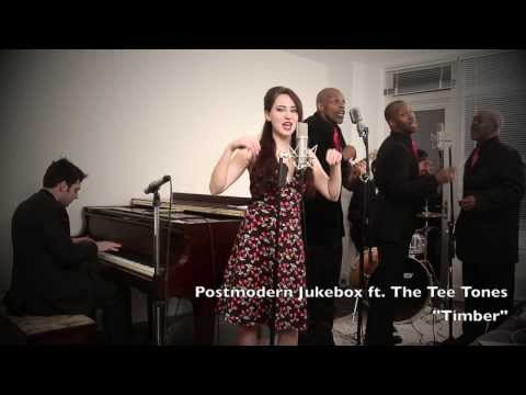 Timber - Vintage 1950's Doo Wop Pitbull / Ke$ha Cover feat. Robyn Adele Anderson