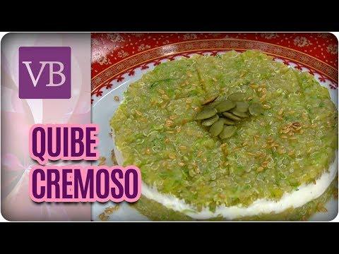 Receita de Quibe Cremoso - Você Bonita (13/07/17)
