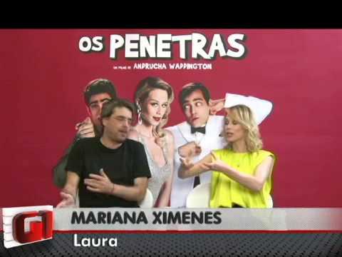 Mariana Ximenes e Andrucha Waddington falam sobre 'Os Penetras' - G1