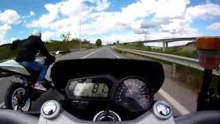 Download Video Yamaha Fz1 top speed and Kawasaki Zx636 MP3 3GP MP4