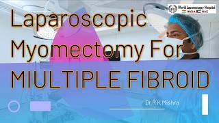 Laparoscopic myomectomy instead of hysteroscopic myomectomy for large submucous fibroid.