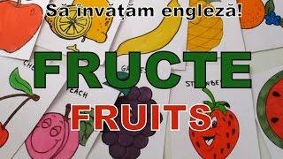 Sa invatam engleza - FRUCTE/FRUITS (cuvinte si propozitii) - Let