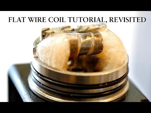 Flat wire coil tutorial, revisited