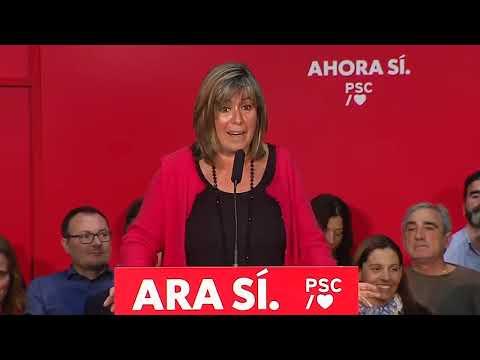Núria Marín a l'Acte de municipalisme a Sant Joan Despí (3/11/2019)