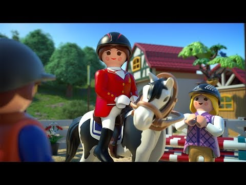 PLAYMOBIL Le club d'équitation -  Le film (Français)