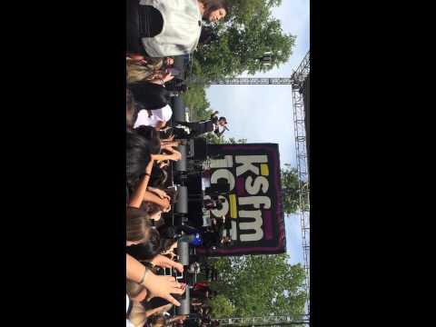 HBK Gang P-Lo & Kool John - Blue Hunnids & Quit Cattin @ 1025 Live 2015