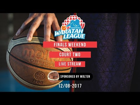 2017 Waratah League Finals Live Stream - Court 2 - 12.08.2017