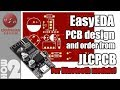 EasyEDA PCB design and order from JLCPCB