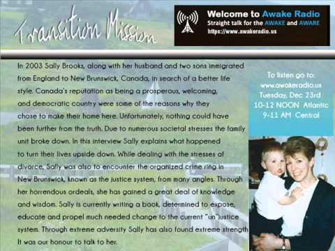Sally Brooks - Transition Mission - Awake Radio