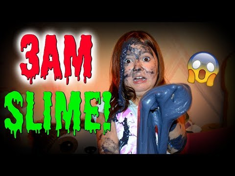 Thumbnail: DO NOT MAKE SLIME AT 3AM! OMG SO SCARY!!! ~ 3AM SLIME CHALLENGE/SKIT | Sedona Fun Kids TV