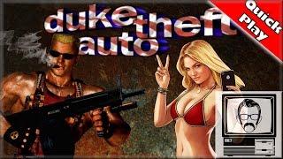 GTA in Duke Nukem 3D's Engine! [Quick Play] | Nostalgia Nerd