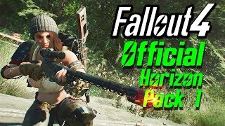Fallout 4 Mods - Official Horizon Weapon Merge Pack - 14 weapons ONE MOD 100 Lore-Friendly