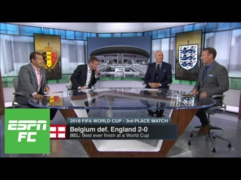 Heaping praise for Belgium after 2-0 win vs. England in World Cup third-place match | ESPN FC