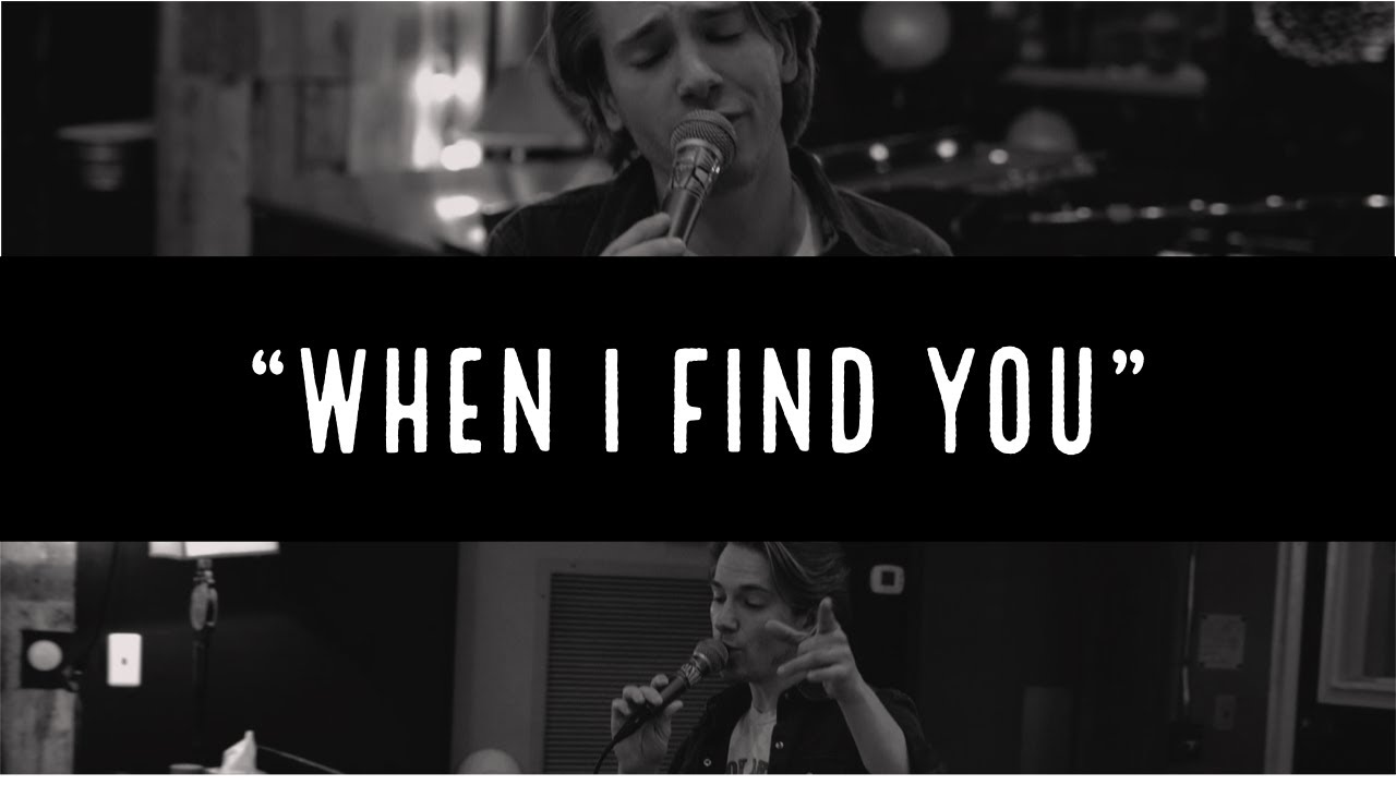 """When I Find You"" LIVE at Sound Emporium Studios"