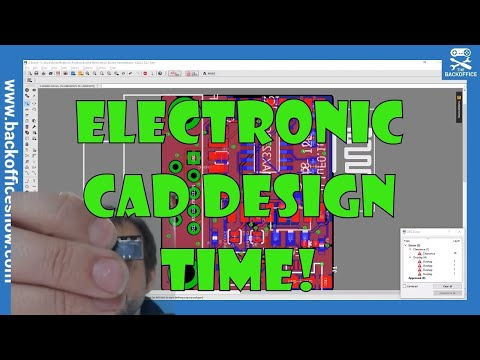 CAD TIME! Lets do electronic design!
