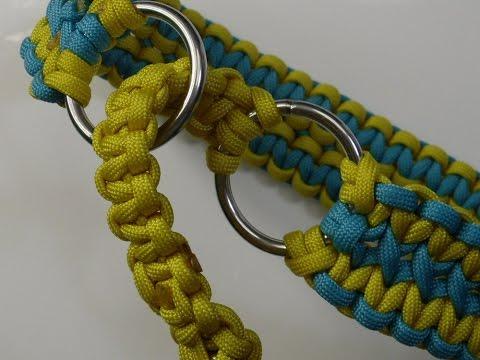 Zugstopp Halsband aus Paracord für Vierbeiner – Paracord Flechten Anleitung in Deutsch auch als Blog