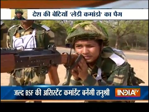 Meet Tanushree, First BSF Lady Commander of India