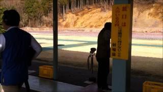 クレー射撃2011-04-17須山射撃場レミントンM870(Rem870 Clayshooting. Shizuoka,JPN)
