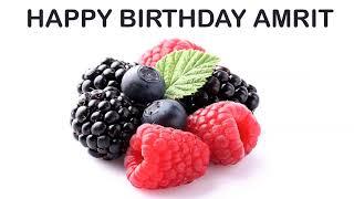 Amrit   Fruits & Frutas - Happy Birthday