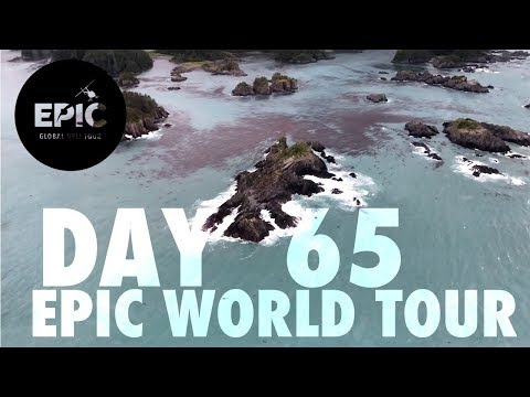 FLYING ACROSS ALASKA | EPIC World Tour DAY 65